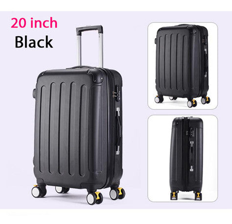 4e0e228a123 24 inches,Women Suitcase For Travel,bags on wheels,Trolley Case,ABS ...