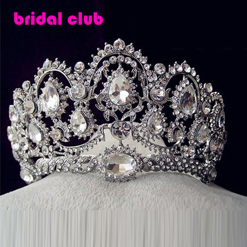 Hot European Designs Vintage Peacock Crystal Tiara Bridal Hair Accessories Wedding Quinceanera