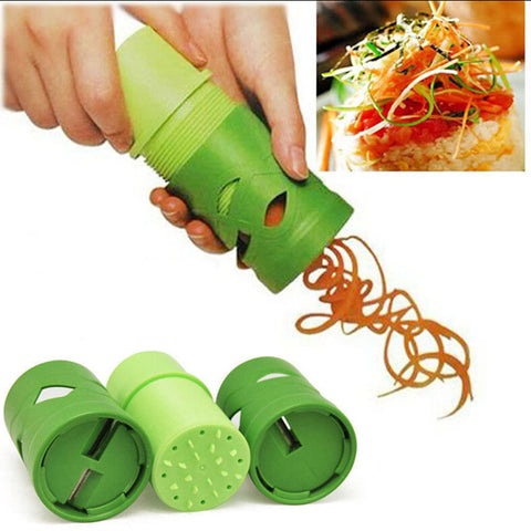 1 pcs Vegetable Fruit Veggie Twister Cutter Slicer Processing Kitchen Tool