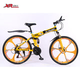 Altruism X9 Folding bicycles for men 21 speed 26 inch steel mountain bike - Shopy Max