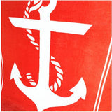 beach towels brand quality cotton Anchor pattern free-shipping - Shopy Max
