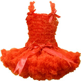 13 options FREE SHIPPING 2014 Boutique Pure Color Baby Pettiskirt Set Chiffon - Shopy Max