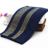 Wholesale 3pc/set super soft 100% cotton Embroidered towel set high