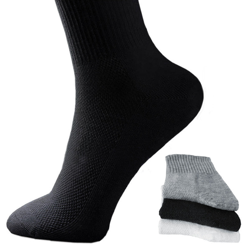 20% OFF Winter Men Athletic Socks Sport Basketball Long Cotton Blend Socks Male Running