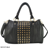 ZIWI Brand 3 Color New Fashion PU Leather Ladies Handbags Stud Women's