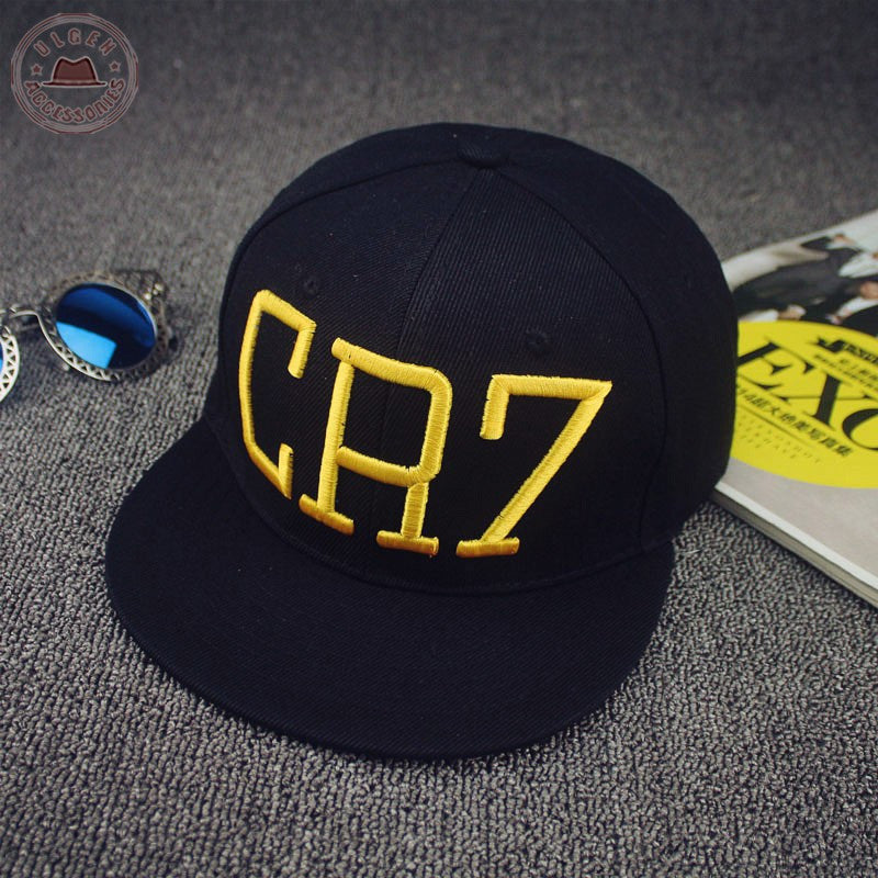 a67278c4b8c New Cristiano Ronaldo CR7 Black Baseball Caps hip hop Sports Snapback
