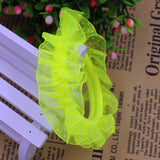 10pcs/lot Lace Hair Holders Elastics 2016 New 12 Colours Fashion Candy - Shopy Max