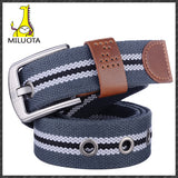 [MILUOTA] 2014 canvas pin buckle belt unisex military belt Army tactical fashion