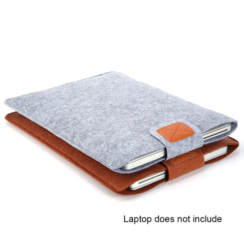 Portable Soft Felt Laptop Sleeve Bag Cover Case For Notebook / Ultrabook/Samsung/Sony/HP/ Macbook Air /Dell Anti-scratch