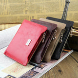 Long Design Zipper Wallet Women Ladies Purses With Card Holder Luxury