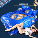 Home Textile Famous European Soccer Team Bedding Set 3/4pcs Bed Linen Include Duvet Cover Bed Sheet