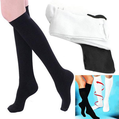 1pair High Quality Miracle Socks Antifatigue Compression Stockings Soothe Tired Achy Unisex Women