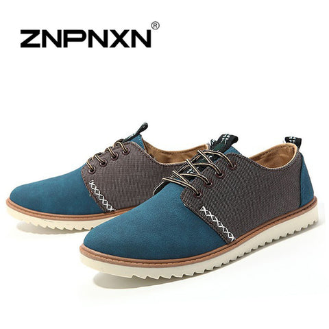 Brand Spring 100% Cow Ceather Shoes Men British Brogue Mens Sneakers