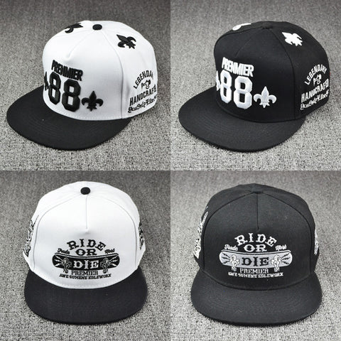 2014 Fashion Street BOY GIRL  hiphop women's snapback men DIE baseball caps duck tongue hater hip-hop 88 women cap hat