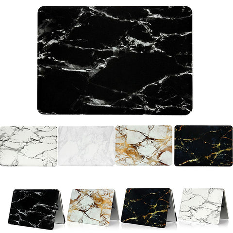 Newest Cool Fashion Marble Texture Matte Case Funda Cover For Macbook Air Pro Retina 11 12 13 15 inch Protector Skins Laptop Bag