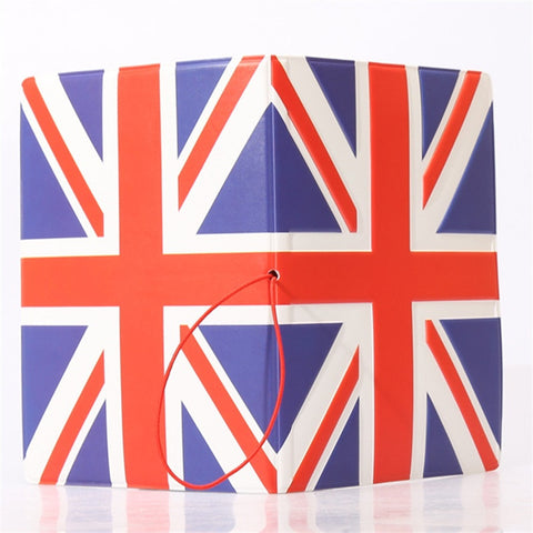 2015 NEW National Flag Passport Holder PVC/PU Leather Passport Cover