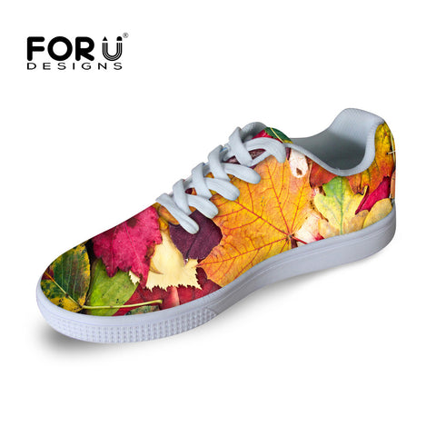 2016 Men Skate Shoes Autumn Maple Leaf Zapatillas Deportivas Women Casual Shoes