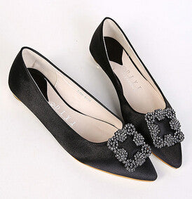 New Ladies Shoes Women Flats Shoes High Quality Manolos