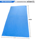 11 Colors 80cmx160cm 30*75cm 75*135 ZiRou Microfiber Beach towel   Drying Travel - Shopy Max
