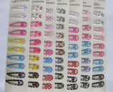 Mixed Pattern Children Girls Hairpins Hair Clips Headwear Accessory