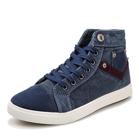 Men Shoes 2015 New Arrival Men's Fashion Solid Denim Cloth Shoes Male Autumn Spring Breathable Canvas Shoes XMF345