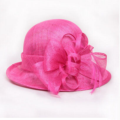 c11404c458 Hot Pink Church Hat Philippines Sinamay Hats for Ascot Races ...