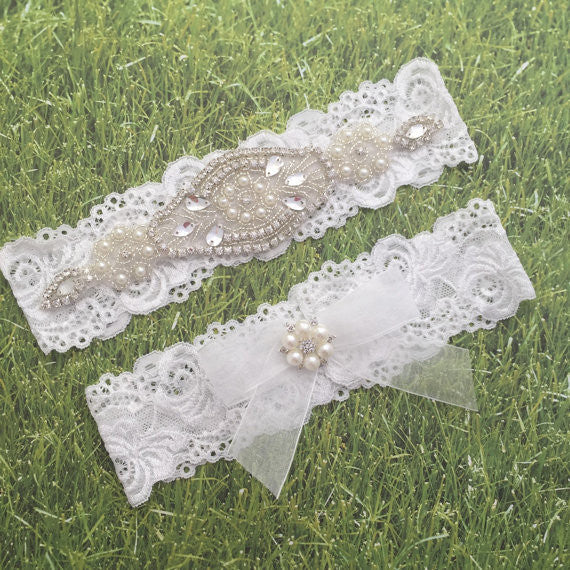 wedding Baby Girls Lace bow Headband pearl Rhinestone Headband Flower Lace Headband for Newborn Infants