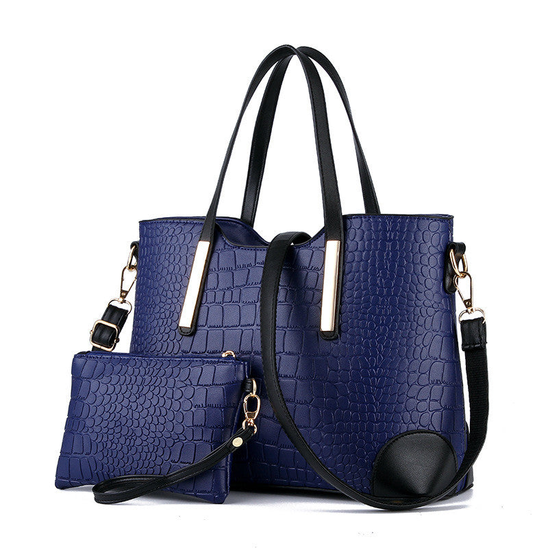 New 2016 women handbags leather hand bag michael crocodile crossbody