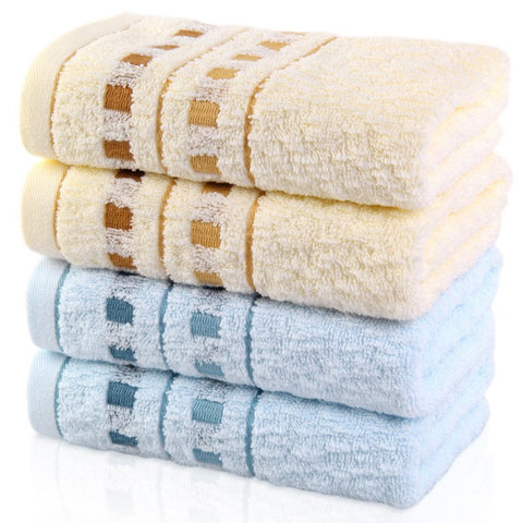 1 Pcs Soft Cotton Bath Large Oversized Towels Absorbent Beach Towels 33x76cm
