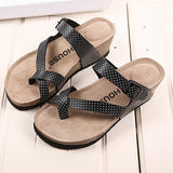 2015 new cartoon the far point pinch thick soled sandals and slippers all-match comfort mnt007