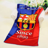 Football beach towel 70*140cm Microfiber Beach towel Fast Drying Compact Travel Sports Camping Swiming Beach Bath Towel Sports