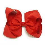Baby Ribbon Bow With Hair Clips Baby Girl Hair Bows Boutique Hair Bows - Shopy Max