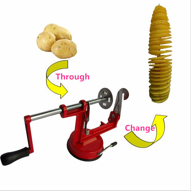 Environmental Clean High-quality stainless steel Manually sweet potatoes machine / potato slicer New kitchen tool  Wholesale - Shopy Max