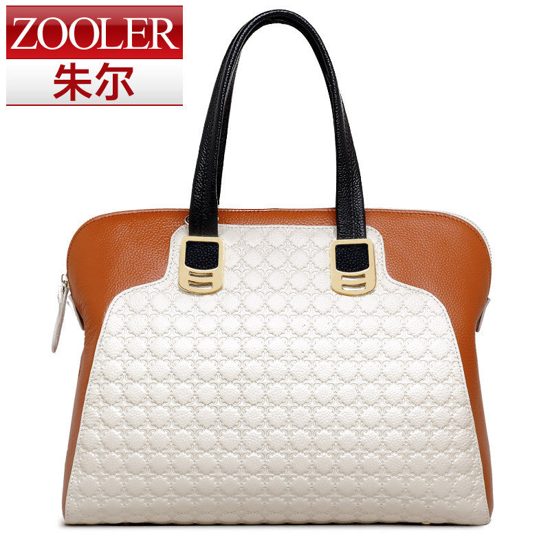 (NEWS! All three colors are available.)ZOOLER BRAND Genuine Leather bag bags - Shopy Max