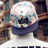 2015 fashion new floral adjustable snapback caps baseball hats for men and women sports hip hop baseball caps