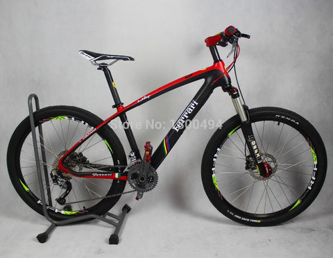 26 inch wheel diameter 27-speed carbon fiber mountain bike  Ultra light mountain bike
