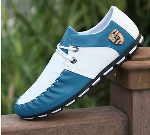 2016 Italian Brand Shoes Tenis Sapato Masculino Men's PU leather