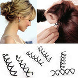 12 pcs\set Spiral Spin Screw Pin Hair Clip Hairpin Twist Barrette - Shopy Max