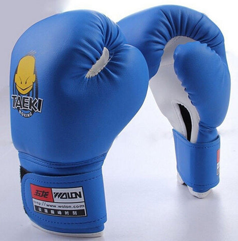 Hot Sale 1 Pair Kids Children Kickboxing Kick Box Training Punching Sandbag Sports Fighting Golves MMA Boxing Glove