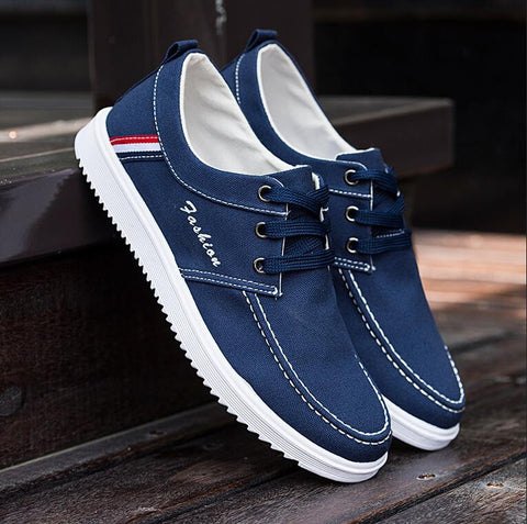 Fashion Brand Hot Autumn Winter Casual shoes men's shoes breathable canvas Flats shoes Plus Size 39-45