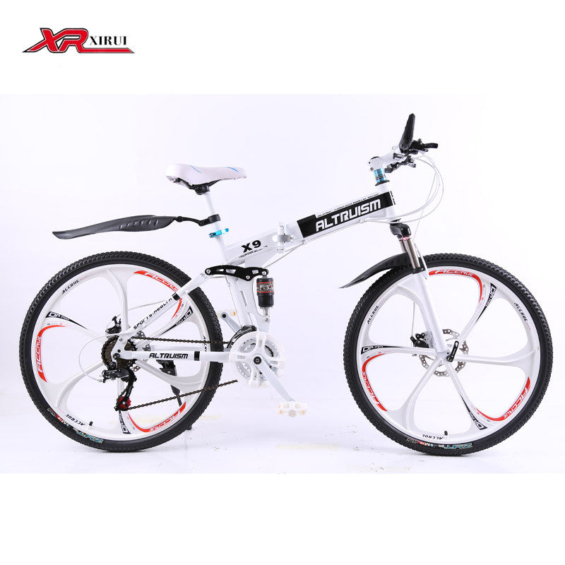 8e1c92d9ac7 Altruism X9 Folding bicycles for men 21 speed 26 inch steel mountain bike -  Shopy Max