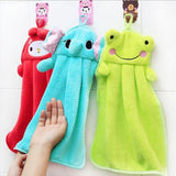 Cute Animal Microfiber Kids Children Cartoon Absorbent Hand Dry Towel Lovely
