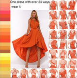 11 color 2016 summer sexy women maxi dress red bandage long dress sexy Multiway - Shopy Max