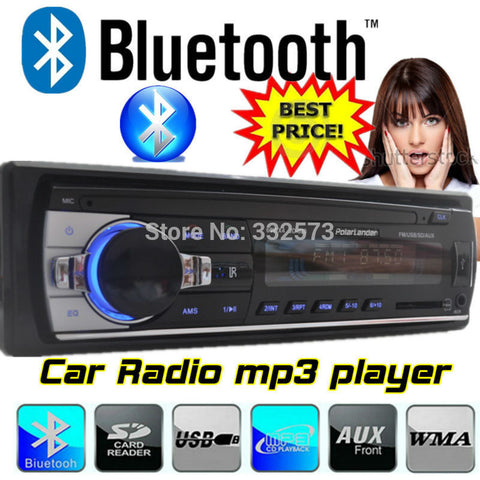 2015 new style bluetooth Car Radio Player,MP3,FM Receiver