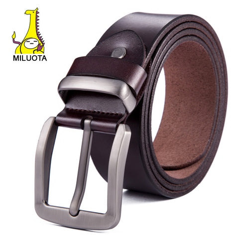 [MILUOTA] 2015 Fashion mens belts luxury genuine leather belts for men casual