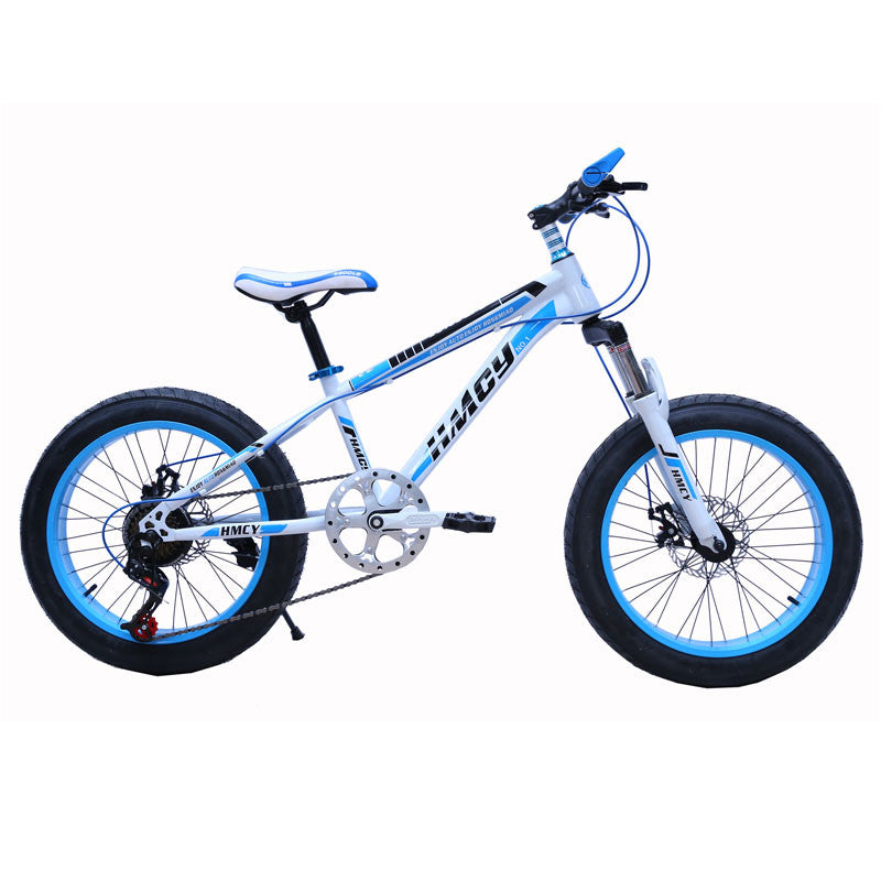 High Carbon Steel Frame 26 Inch Big Fat Tyre Mountain Snow Bike Bicycle 24 Speed Double Disc Brake Bicicleta Mountain Bike