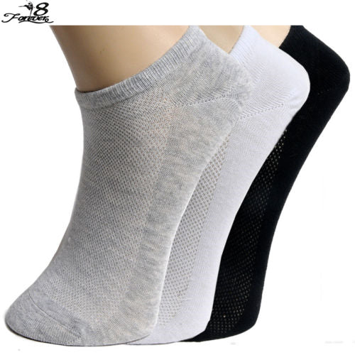 2 Pairs Women Men Sport Socks Casual Boat Low Cut Summer Style Solid Color Short