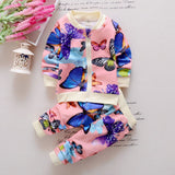 2016 new arrival Baby Toddler Kids Girls Clothes Butterfly Cardigan Tops