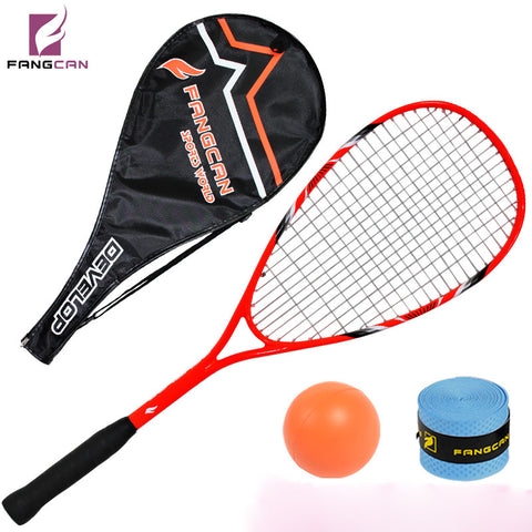 (2pcs/lot) FANGCAN professional squash racquets, orange, composited