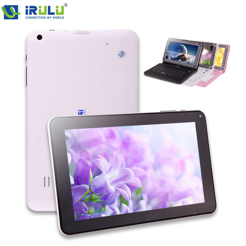 "IRULU Tablet X1a New 9"" 8GB Google Android 4.4 Kitkat Quad Core PC Bluetooth 3G External Dual Cameras with TF Card 2014 High End"